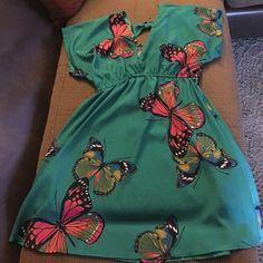 Cute Butterfly Dress