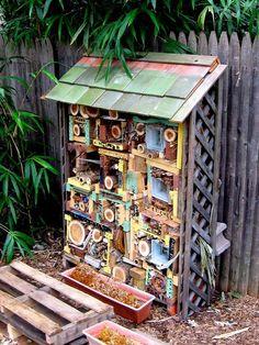 домик для жучков
