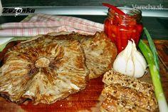 Opečené bedle s rascou - recept French Toast, Veggies, Cheese, Cooking, Breakfast, Health, Czech Republic, Food, Kitchen