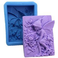 Fairy & Pretty Peony 0565 Craft Art Silicone Soap mold Craft Molds DIY by Longzang, http://www.amazon.com/dp/B008LKZ7XG/ref=cm_sw_r_pi_dp_RSOKqb1AT853X