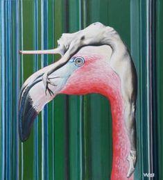 Louboutin flamingo