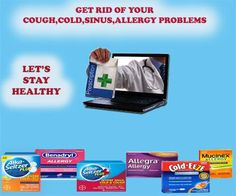 Get Rid of your Cough,Cold & Allergy Problems Now!! #healthyliving #Atlanta #pharmacy #cold #cough #allergy #onlinepharmacy #USA #health #healthtips