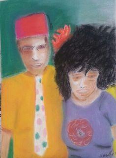 Seu Nacib e Gabriela vão brincar o Carnaval