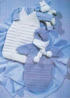 Схема вязания спицами конверта для новорожденного?