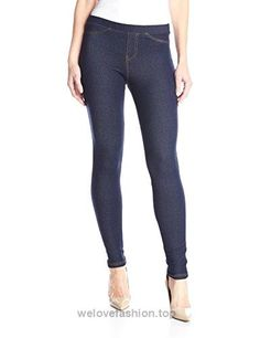 No Nonsense Women's Legging, Dark Denim, Large  BUY NOW     $14.97    Nn Denim Leg L (Pack of 1 Only)Stylish, quality jean-like legging  at a great price The look of denim with total comfort Topstitching on pockets, side seam and leg op ..