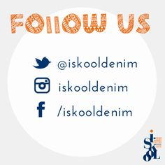 Follow our other social media accounts for all the latest from I-Skool Denim Talent Awards! #iskool #isko #denim #fashion #fashiondesign #fashionawards #talent #LCF #Marangoni #IMA #ESMOD #UAL