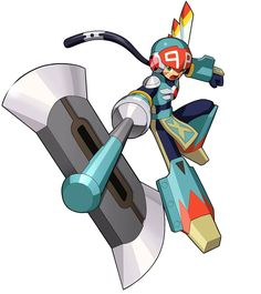 View an image titled 'Tomahawk Soul Art' in our Mega Man Battle Network 5 art gallery featuring official character designs, concept art, and promo pictures. Manga Anime, Anime Couples Manga, Cute Anime Couples, Anime Fnaf, Manga Girl, Anime Girls, Anime Art, Mega Man, Game Character Design