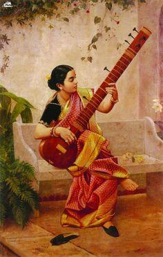 Kadambari , Raja Ravi Varma ,