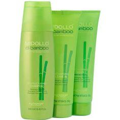 Alfaparf Midollo di Bamboo kit (3 produtos) // Shampoo 250ml + Máscara de tratamento 250ml + Creme para pentear 250ml // Beleza na web // R$152,70. Shampoo, Personal Care, Bottle, Colors, Beauty, Products, Overhead Press, Productivity, Personal Hygiene