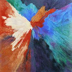 "Saatchi Online Artist Lia Melia; Painting, ""The Paradise Bird"" #art"