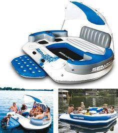 Cool ass water float!!