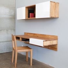 LAX Series by Mash Studios Wall Mounted Desk