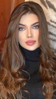 Most Beautiful Eyes, Stunning Eyes, Beautiful Girl Image, Gorgeous Women, Beauty Full Girl, Beauty Women, Evening Wedding Makeup, Skinny Face, Beauté Blonde