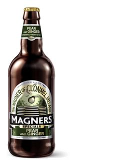Cider packaging for Magners Specials designed by Him+Her.