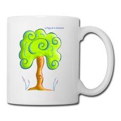 Taza Raíces - Roots cup - #Shop #Gift #Tienda #Regalos #Diseño #Design #LaMagiaDeUnSentimiento #MaderaYManchas #Cup #Boy #Girl #Kid #Nature #Tree #Forest  Creación inspirada en los aprendizajes con nuestros amigos, compañeros y guías: los árboles.Recogen la Luz, proporcionan oxígeno y, con sus raíces, la anclan en la Tierra. Tableware, Gifts, Earth, Learning, The Creation, Friends, Presents, Dinnerware, Tablewares