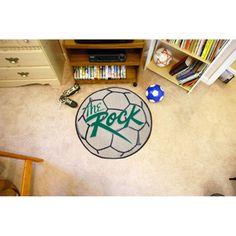 Slippery Rock NCAA Soccer Ball Round Floor Mat (29)