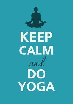 Or do yoga and feel calm!   Svava Sparey Yoga Holidays #yoga #yogi