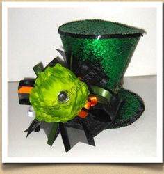 St Patricks Day Green Glitter Mini Top Hat with by SouthernWragCo, Top Hat Centerpieces, Erin Go Braugh, Green Glitter, Glitter Top, St Pats, Luck Of The Irish, Birthday Parties, Birthday Ideas, St Patricks Day