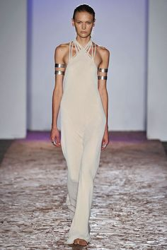 Kimberly Ovitz, Spring 2013. #StyleInvades #NYFW #MBFW    For all your #NYFW Fix follow http://www.twitter.com/Jeanniemai