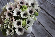The anemone, a symbol of anticipation: 'Anemone' by Winston Flowers.