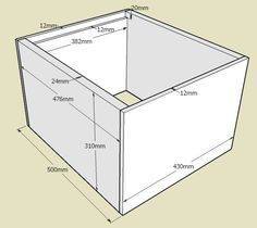 Le plan du corps de ruche Dadant 10 cadres Bee Hives Boxes, Langstroth Hive, Top Bar Hive, Bee Hive Plans, Bee House, Bee Farm, Backyard Beekeeping, Bees Knees, Queen Bees