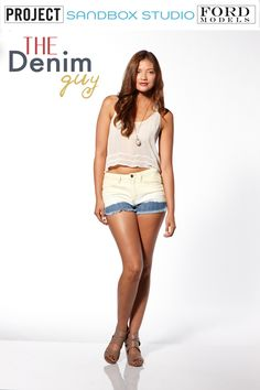New women's denim line Acoustic Denim featured by The Denim Guy.
