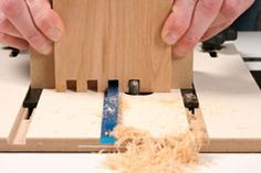 Classic Box Joints | Article | Woodworking