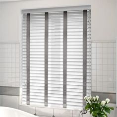 majestic wooden blinds for bathrooms. Arctic White  Paloma Faux Wood Blind 50mm Slat Majestic Oak Sand New Window