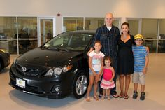 Connie and Benjamin With Their New Corolla