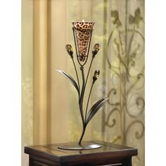 Leopard Lily Single Candle Tree - $12.95