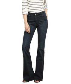 Abercrombie & Fitch High Rise Flare Jeans | Refresh your denim selection with an array of new fits, silhouettes, and washes that won't blow your budget.