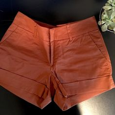 """Club Monaco pumpkin shorts Club Monaco / Size: 4 / Pumpkin / 4"""" inseam / EUC Club Monaco Shorts"""