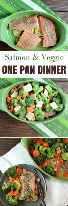 Easy one pan dinner | light and healthy salmon | Make ahead meals | Meal Prep| Meal Planning |5dinners1hour.com