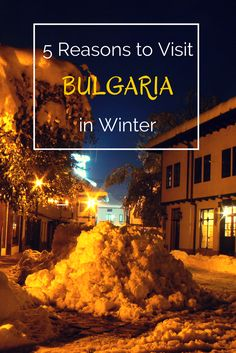 It's already that time of year when you start looking for a cosy, yet affordable, place to spend a few days this winter. Whether it's for a whole month or just a few days, there are plenty of locations to explore. But I think that there is no place more suitable for winter holiday than Bulgaria. Here are the 5 reasons to visit this country in winter: http://travellingbuzz.com/visit-bulgaria-in-winter/