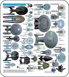 Ships of star trek