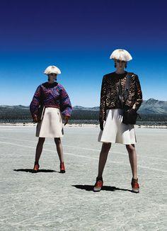 Bold Style - Balenciaga: Photo By Patrick Demarchelier Via Wmagazine
