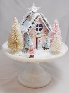 Hey, I found this really awesome Etsy listing at https://www.etsy.com/listing/175365243/winter-onederland-house-centerpiece