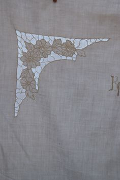 Antique French Pure Linen Pillowcase C 1900 Richelieu Embroidered BK Monogram Bedding Pillow Sham Case White Lace HandMade Decor Romantic Handmade Home Decor, Handmade Decorations, Vintage Linen, French Vintage, Pillow Shams, Bed Pillows, Monogram Bedding, Linen Upholstery Fabric, Linen Sheets