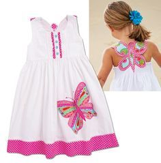 Different Stylish Frock Design Collection - Crazzy Crafts Little Dresses, Little Girl Dresses, Cute Dresses, Girls Dresses, Little Girl Fashion, Kids Fashion, Frock Design, Baby Sewing, Kind Mode