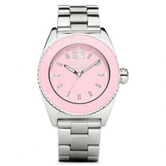 Coach is donating 30% of the proceeds of their Andee BCA Stainless Steel Bracelet Watch to The Breast Cancer Research Foundation.