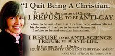 I quit being a Christian... - Imgur