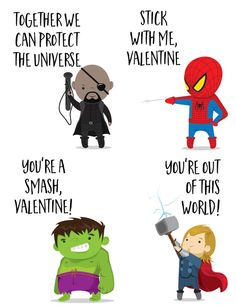 The Avengers Super Hero Valentines Day Cards for Kids - Our Handcrafted Life - Marvel The Avengers Super Hero Valentines Day Cards