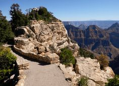 Bright Angel Point Trail in Grand Canyon National Park (North Rim) - Habits of a Travelling Archaeologist Grand Canyon National Park, National Parks, Trail, Angel, Bright, Angels, State Parks
