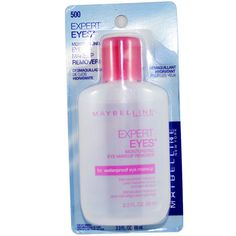 Maybelline New York Expert Eyes Moisturizing Eye Makeup Remover 500