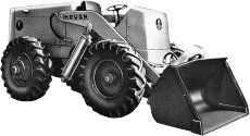 1948 Hough HM Payloader was the first four wheel drive integrated loader.
