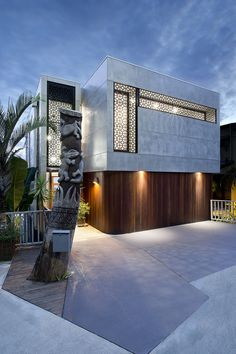 Beautiful Modern Entrance Design Landscape Architecture