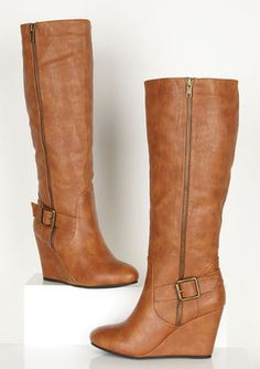 Colette Wedge Boot