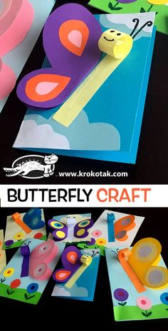 Butterfly Craft for Kids to Make the usage of card inventory Butterfly Craft for Kids zum Basteln aus Karton Spring Crafts for Kids (Visited 1 times, 1 visits today) Spring Crafts For Kids, Crafts For Kids To Make, Easy Crafts For Kids, Summer Crafts, Toddler Crafts, Art For Kids, Crafts Toddlers, Preschool Crafts, Easter Crafts