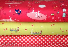Riley Blake Fabrics Half Yard Bundle from the by hootcouture, $13.27