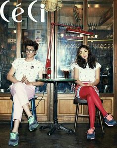 bang sungjoong x jo boah for ceci magazine march issue 2012